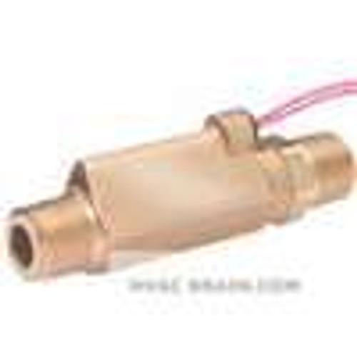 Dwyer Instruments P8-11, High pressure brass flow switch, actuation set point 025 GPM (95 LPM)