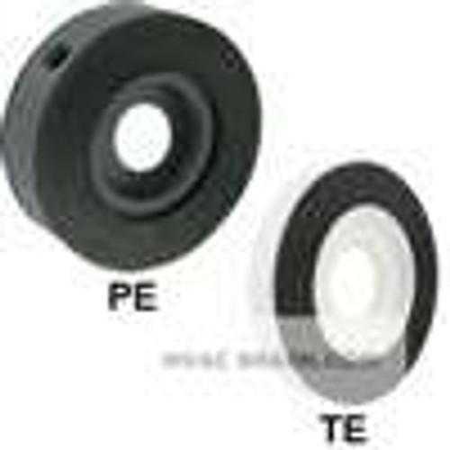 "Dwyer Instruments PE-A-3, PVC orifice plate flowmeter, 1/2"" line size, 0430"" bore, 069 Beta, water capacity: 320"" dp W/C, 1300 GPM flow; air capacity: 3277 SCFM @ 147 psia, 5615 SCFM @ 20 psig, 10747 SCFM @ 100 psig; 1 lb"