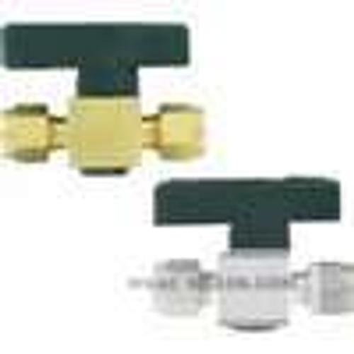 "Dwyer Instruments PGV-BD32, Plug valve, 3/8"" fractional tube connection, 44 mm orifice"