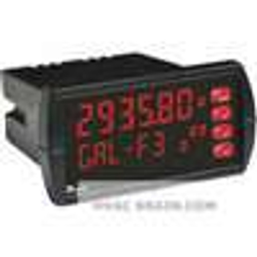Dwyer Instruments PPM-201, Pulse panel meter, 12-24 VDC, no relays, 4-20 mA transmitter