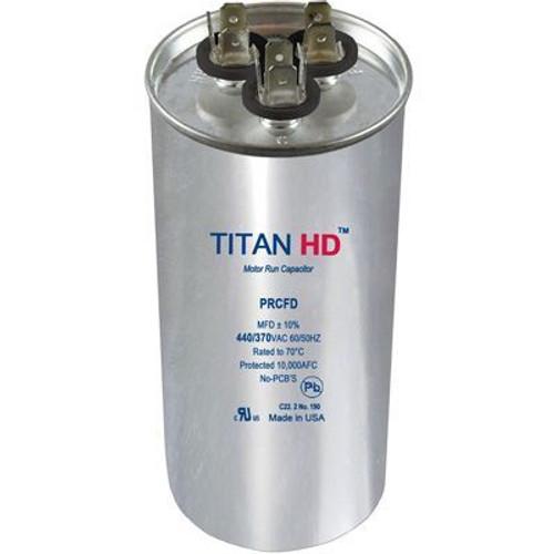 Titan HD PRCFD355A, 440 Volt Round Run Capacitor 35+5 MFD