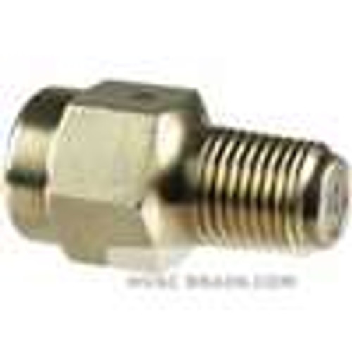 """Dwyer Instruments PS124, Pressure snubber, for air & gas service, 1/4"""" NPT"""