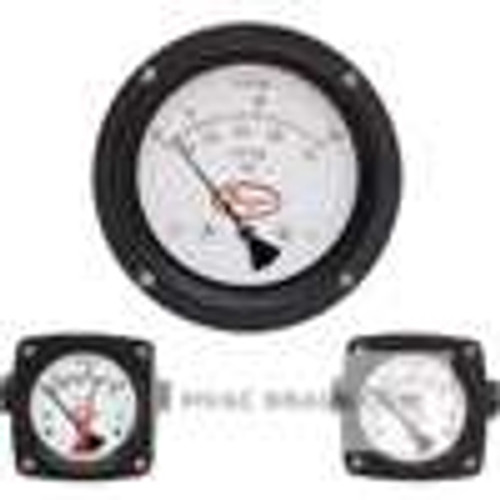Dwyer Instruments PTGD-AA06A, Differential piston gage, in-line connections, range 0-30 psid