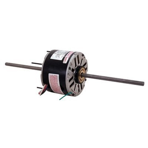 Century Motors RA1006 (AO Smith), 5 5/8 Inch Diameter Double Shaft Fan/Blower Motor 208-230 Volts 1075 RPM 1/8 HP