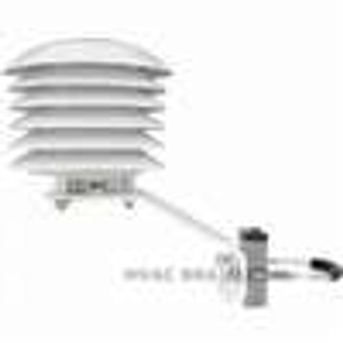 Dwyer Instruments RHRS, 6 plate solar radiation shield for sintered filter version RH transmitters