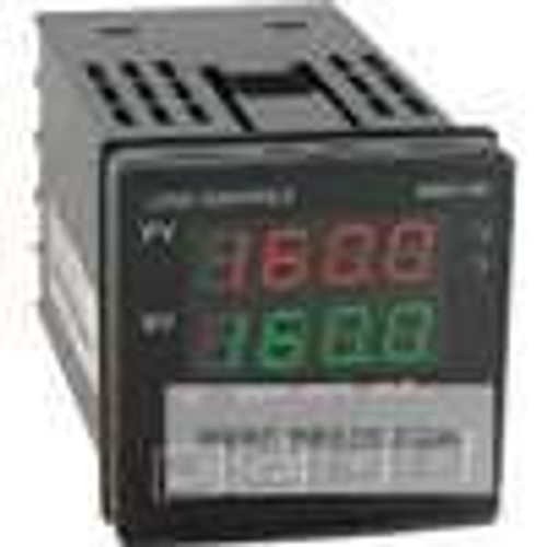 Dwyer Instruments 16B-63, 1/16 DIN temperature/process controller, linear voltage output 1 and relay output 2