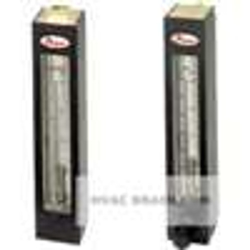 Dwyer Instruments RSF011, Rotatable scale flowmeter, max flow rate 5 SCFM (140 SLPM) air, 12 GPM (4 LPM) water