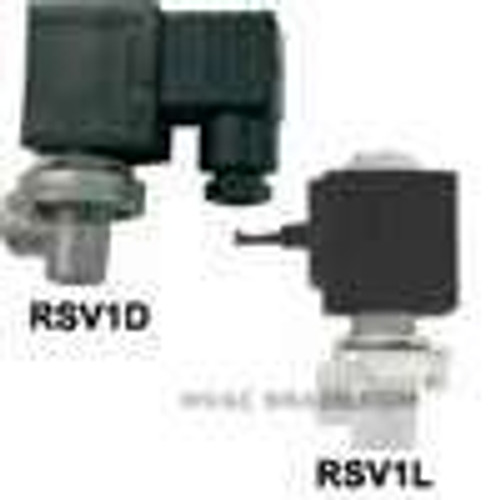 Dwyer Instruments RSV1L, Pilot solenoid valve, 110 VAC, wire lead electrical connections, CV of 33