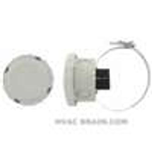 Dwyer Instruments S2-47, Surface mount temperature sensor, 5K NTC sensor in plastic NEMA 4X box