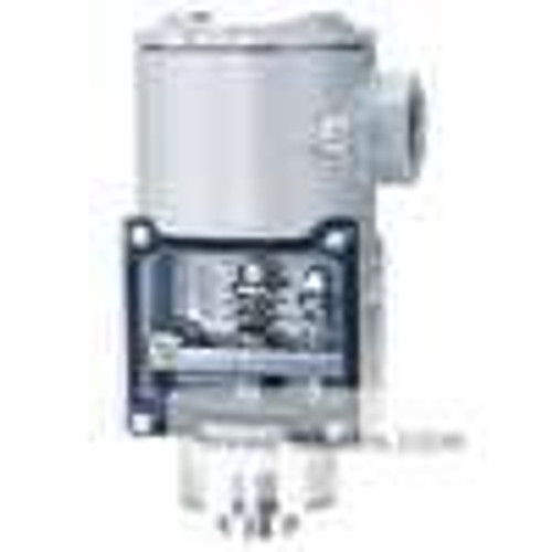 """Dwyer Instruments SA1111E-A4-K1, Diaphragm operated pressure switch, 1/4"""" NPT(F) Process Connection, Buna-N Diaphragm and O-ring"""
