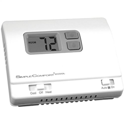 ICM SC2000L, Standard Thermostat