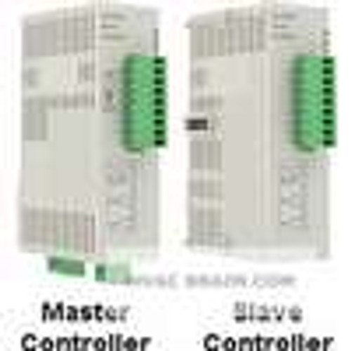 Dwyer Instruments SCD-2023, DIN rail temperature/process slave controller, (1) voltage pulse output and (1) relay output