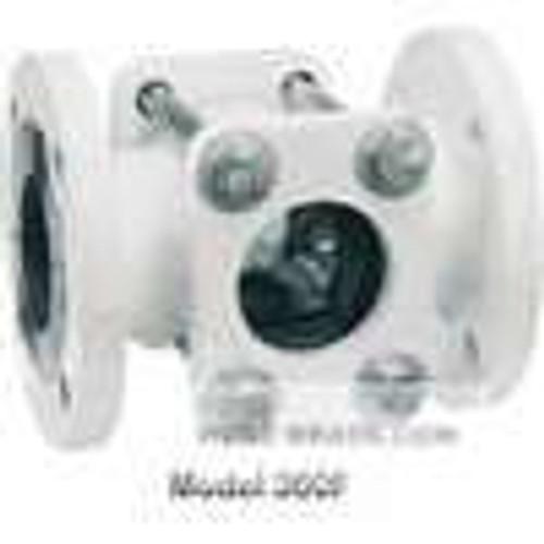 "Dwyer Instruments SFI-350FCS-3, Sight flow indicator, 3"" body, 8875"" (225 mm) length, 7500"" (191 mm) flange dia, 3000"" (76 mm) viewing dia, 38 lb (17 kg)"