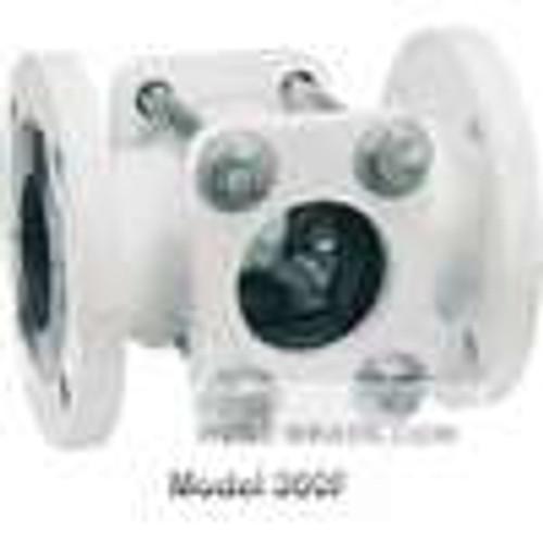 "Dwyer Instruments SFI-350FCS-4, Sight flow indicator, 4"" body, 10250"" (260 mm) length, 9000"" (229 mm) flange dia, 4000"" (102 mm) viewing dia, 56 lb (25 kg)"
