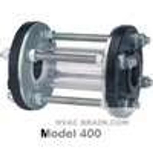 "Dwyer Instruments SFI-400CI-1, Sight flow indicator, 1"" body, 5625"" (143 mm) length, 4250"" (108 mm) flange dia, 2000"" (51 mm) viewing dia, 62 lb (28 kg)"
