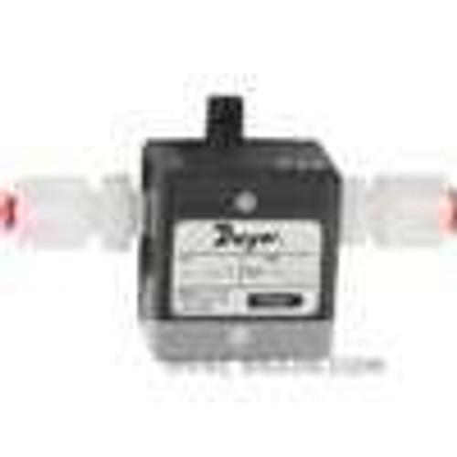 """Dwyer Instruments TFP-GV08, Gas turbine flow meter, range 21 to 11 SCFH (1 to 5 LPM), 1/4"""" OD connection"""
