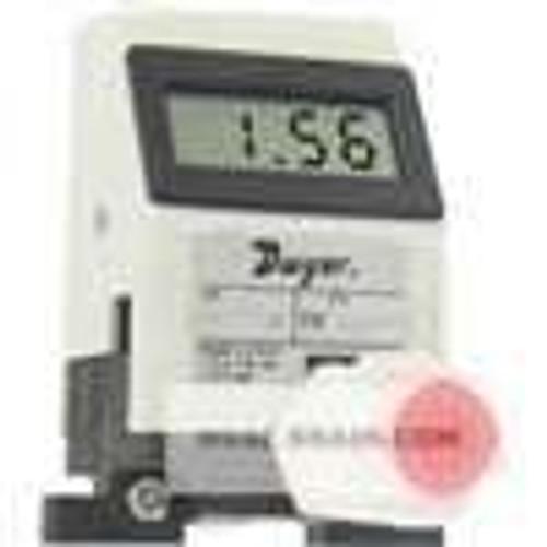 "Dwyer Instruments TFP-LI07, Liquid turbine flow meter, range 32 to 32 GPH (02 to 2 LPM), 1/4"" OD connection"