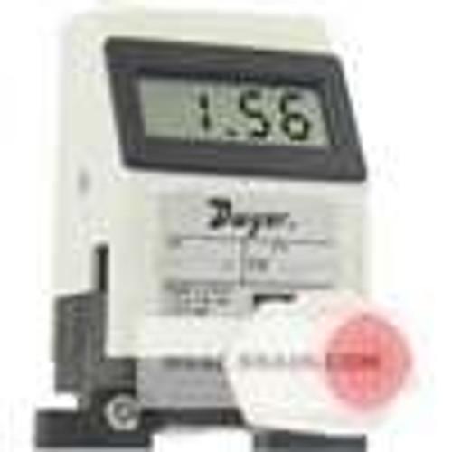 "Dwyer Instruments TFP-LI08, Liquid turbine flow meter, range 79 to 79 GPH (05 to 5 LPM), 3/8"" OD connection"