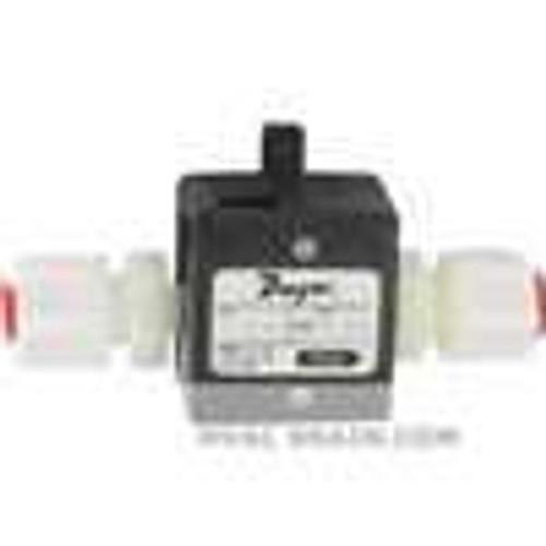"Dwyer Instruments TFP-LP04, Liquid turbine flow meter, range 32 to 32 GPH (002 to 02 LPM), 1/4"" OD connection"