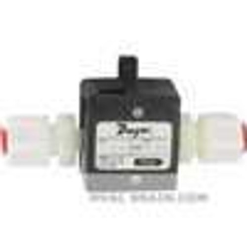 "Dwyer Instruments TFP-LP06, Liquid turbine flow meter, range 16 to 16 GPH (01 to 1 LPM), 1/4"" OD connection"