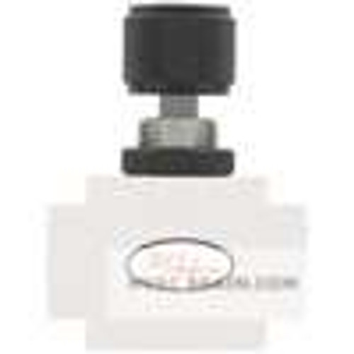 Dwyer Instruments TNV-1, PTFE needle valve, female x female
