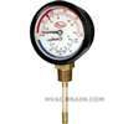 """Dwyer Instruments TRI-60-50L, Tridicator gage, range 0-60 psi (0-400 kPa), 1/2"""" NPT LM"""