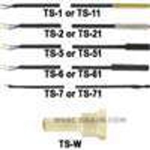 Dwyer Instruments TS-2, Probe, PTC sensor, stainless steel cap, 5 ft (15 m) length