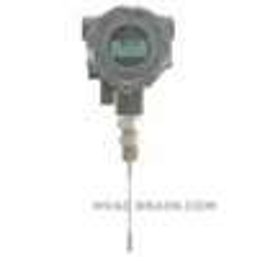 """Dwyer Instruments TTE-106-W-LCD, Explosion-proof RTD temperature transmitter, 6"""" probe, with LCD display"""