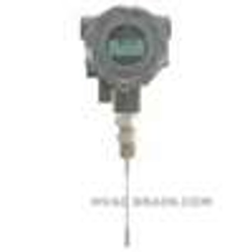 """Dwyer Instruments TTE-109-W-LCD, Explosion-proof RTD temperature transmitter, 9"""" probe, with LCD display"""
