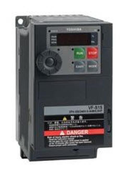 Toshiba VFS15-2004PM-W, VFD S15 Drive, 230V Three Phase Input & Output, 05HP, 33AMPS