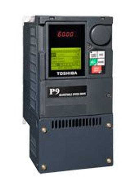 Toshiba VT130P9U2080, VFD P9 Drive, 230V, 75HP, 22VAC, Frame-4