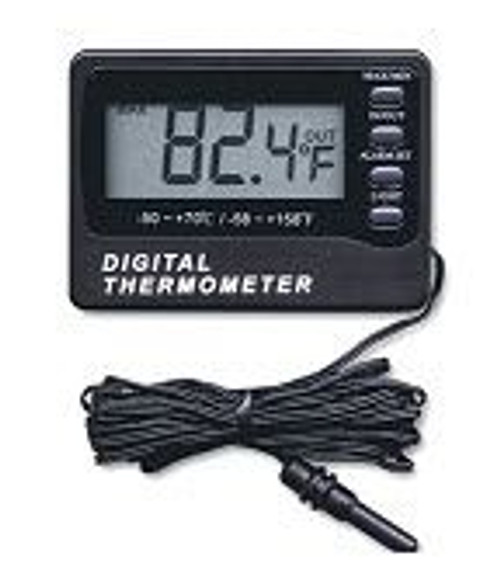 General Tools AQ150 In/Out Digital Waterproof Aquarium Thermometer with Alarm, -58 Ã¥Ãœ TO 158 Ã¥ÃœF, (-50 Ã¥Ãœ TO 70 Ã¥ÃœC)
