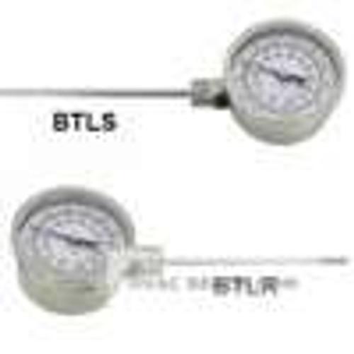 "Dwyer Instruments BTLS325121, Bimetal thermometer, 2-1/2"" stem, range 50 to 400"