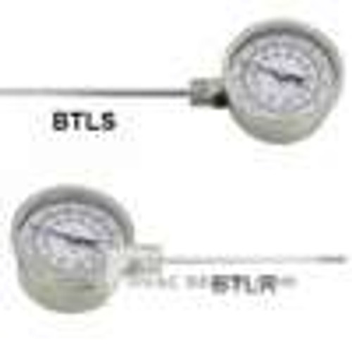 "Dwyer Instruments BTLS34071, Bimetal thermometer, 4"" stem, range 50 to 500"
