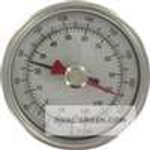 "Dwyer Instruments BTM32511D, Maximum/minimum bimetal thermometer, range 0 to 140 , 2-1/2"" stem"