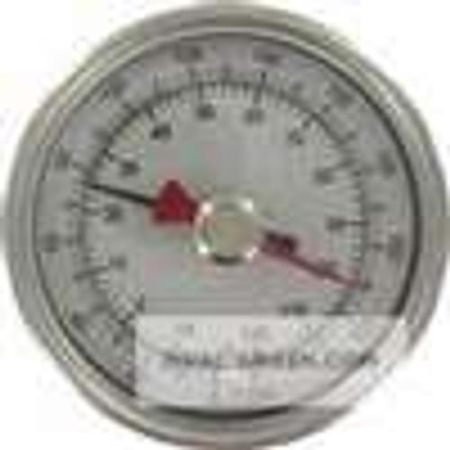 "Dwyer Instruments BTM34011D, Maximum/minimum bimetal thermometer, range 0 to 140 , 4"" stem"