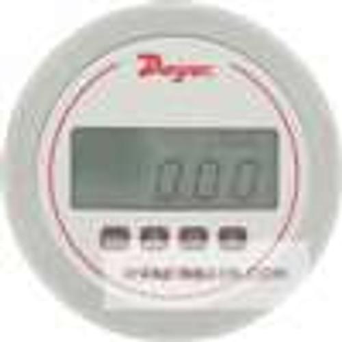 "Dwyer Instruments DM-1123, DigiMag differential digital pressure gage, range 05-0-05"" wc"