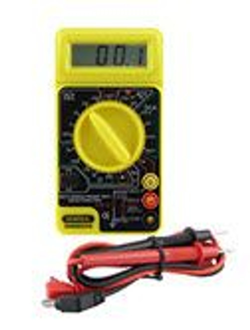 General Tools DMM830HS Digital gHot Side LED Econ Multimeter with Cont Beeper & Single Lead Hot Side