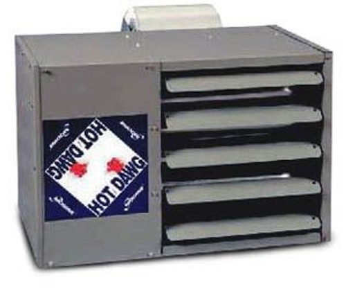 Modine HDC 75, Hot Dawg Separated Combustion - CFM nominal 795 - BTU 45,000 - Stainless Steel - Blower Unit - HP 1/3