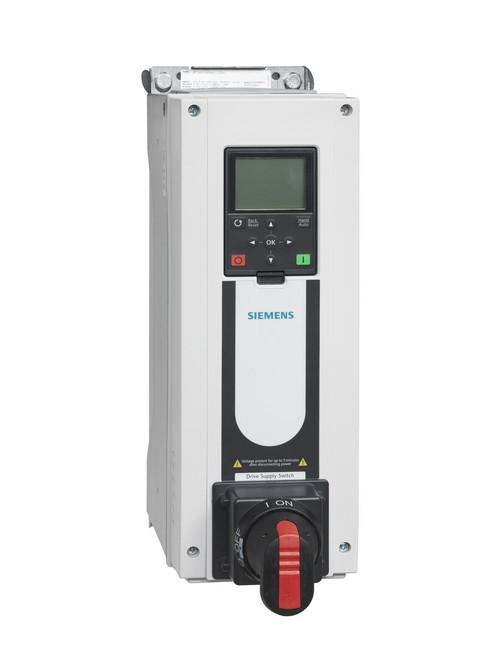 Siemens BT300-002X4-12D, VFD 480V, 2HP, NEMA 12 DISC