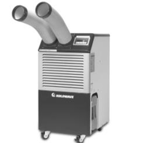 "KoldWave KSA076-4009, Long cool air duct assembly (D5"", L40"") for K6WK16"