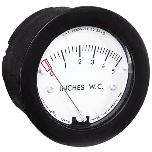 Dwyer Instruments 2-5000-250PA MINIHELIC GAGE