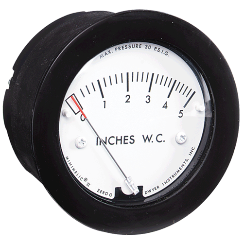 Dwyer Instruments 2-5000-25MM MINIHELIC GAGE