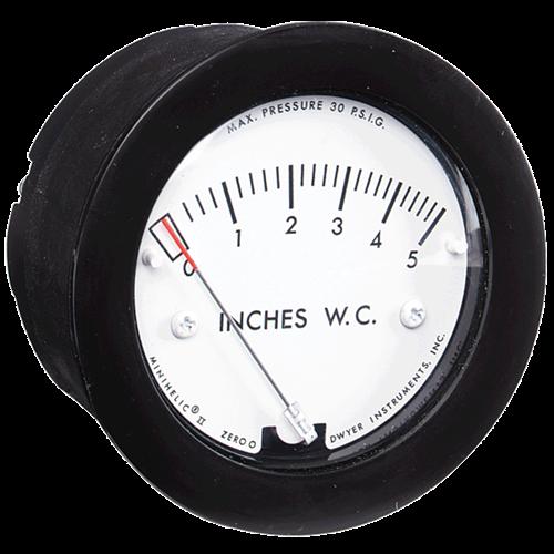 Dwyer Instruments 2-5000-25MM-NPT MINIHELIC GAGE
