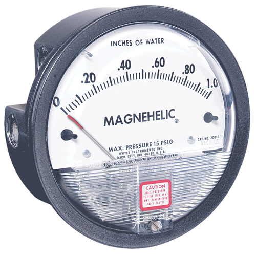 Dwyer Instruments 2000-500PA-ASF MAGNEHELIC GAGE