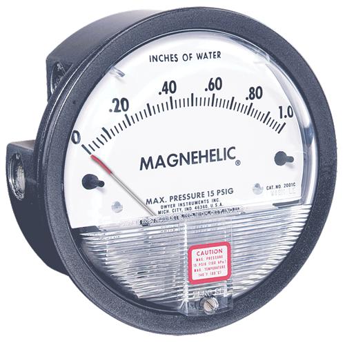 Dwyer Instruments 2001-LT MAGNEHELIC GAGE