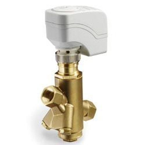 Siemens 230-04300-25, PICV, 1/2 inch, 25 GPM max flow preset, with SSD Actuator, 3P (floating), NSR