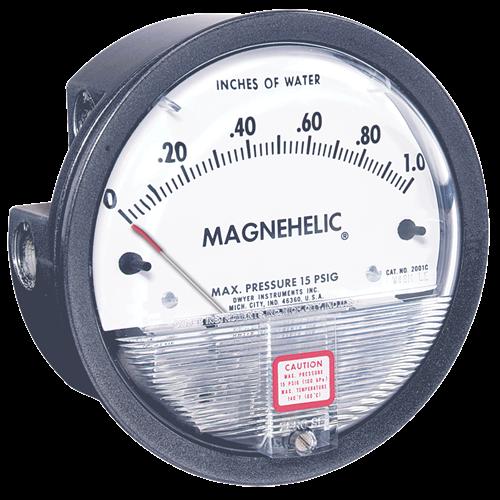 Dwyer Instruments 2300-1000PA MAG 500-0-500 PA