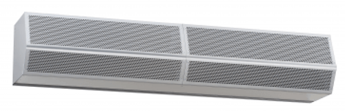 "Mars Air Curtains HV2120-2UA-TS, High Velocity 2, 120"" 2 Motor Unheated 115/1/60 Titanium Silver"