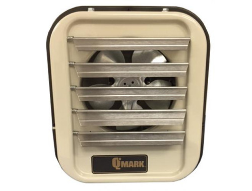 Qmark MUH104, 10KW, 480V, 3Ph Horizontal/Downflow Unit Heater